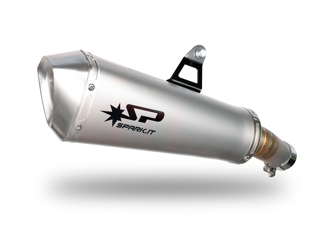 Silenziatore GKA8824 per kawasaki NINJA 400 (18-19) | SPARK Exhaust