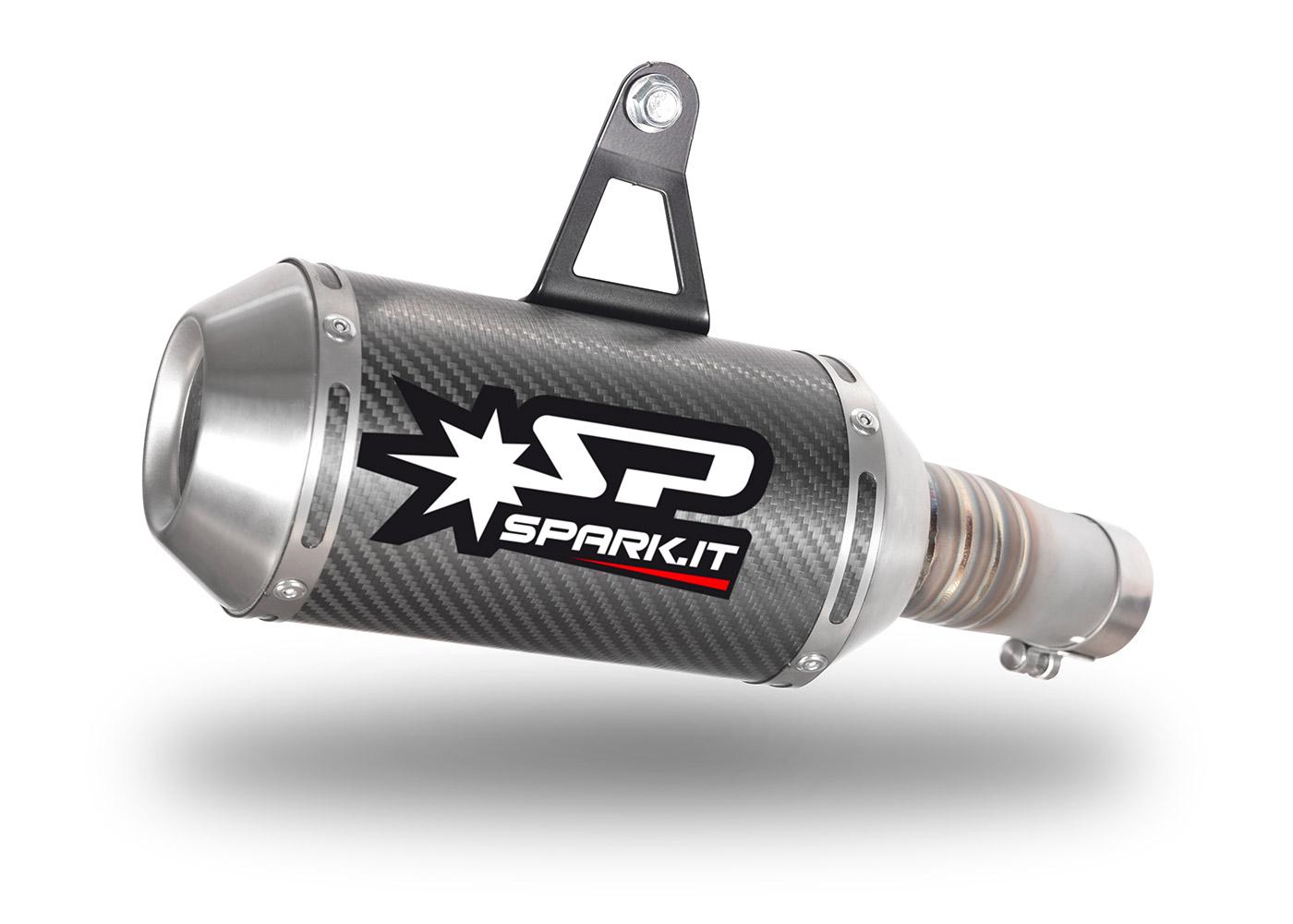 Silenziatore GKA8826 per kawasaki NINJA 400 (18-19) | SPARK Exhaust